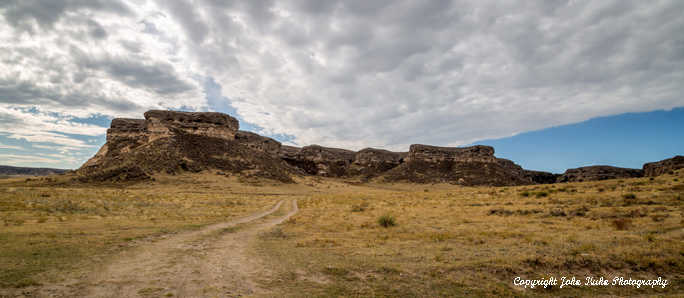 Wyoming Landscape, Sky and Path