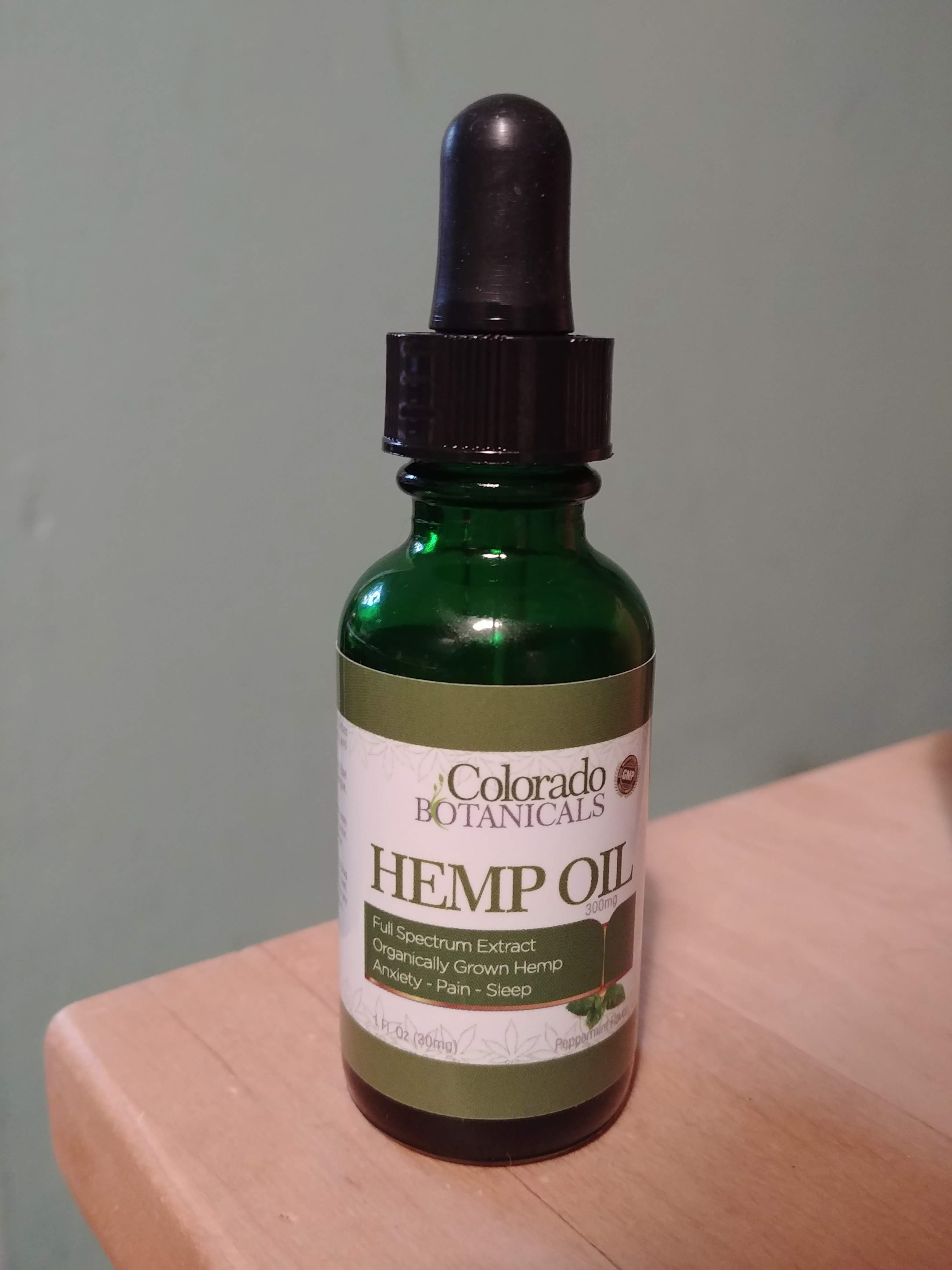Review: Colorado Botanicals Hemp Oil