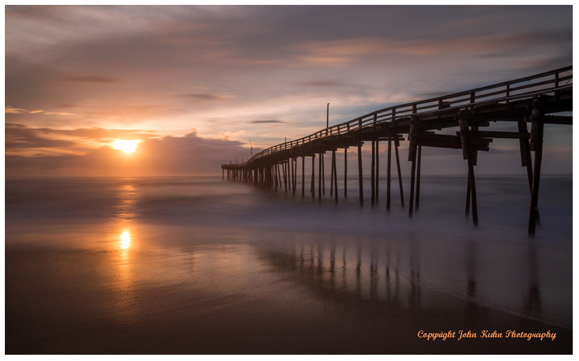 Avon Pier at Sunrise