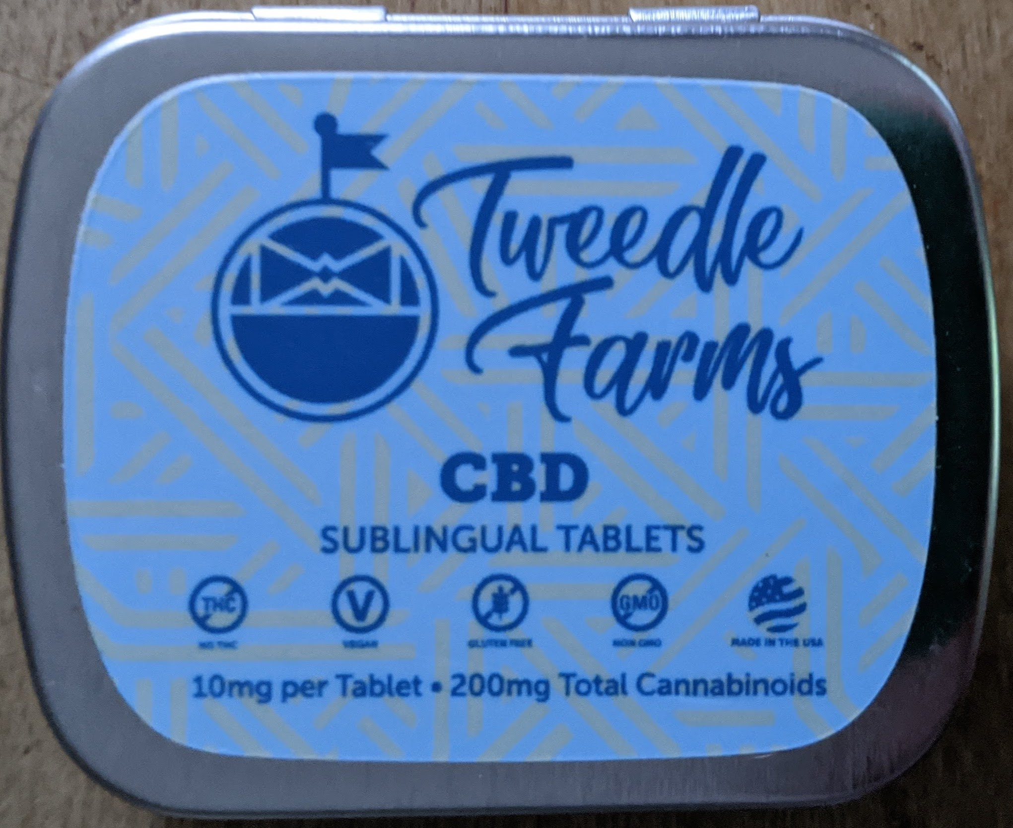 Review: Tweedle Farms CBD Sublingual Tablets