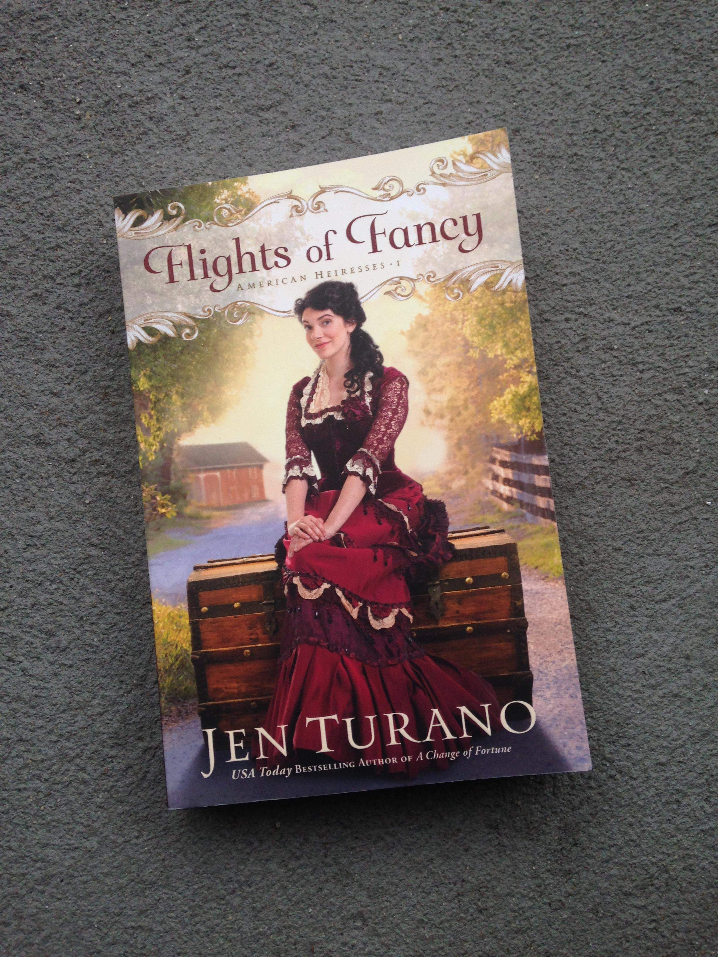 My Bookshelf: Flights of Fancy by Jen Turano