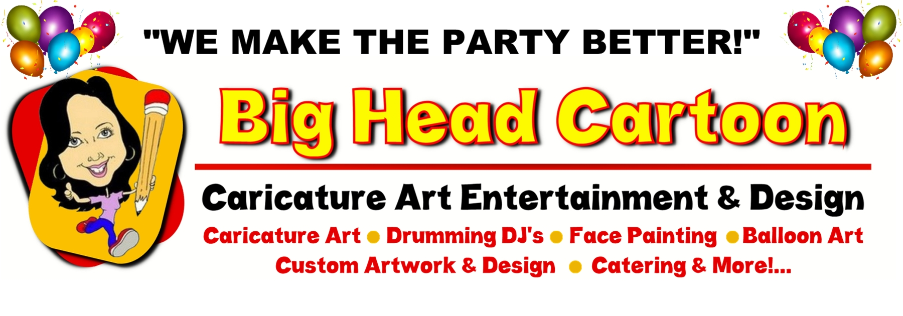 Big Head Cartoon Caricature Art & Entertainment