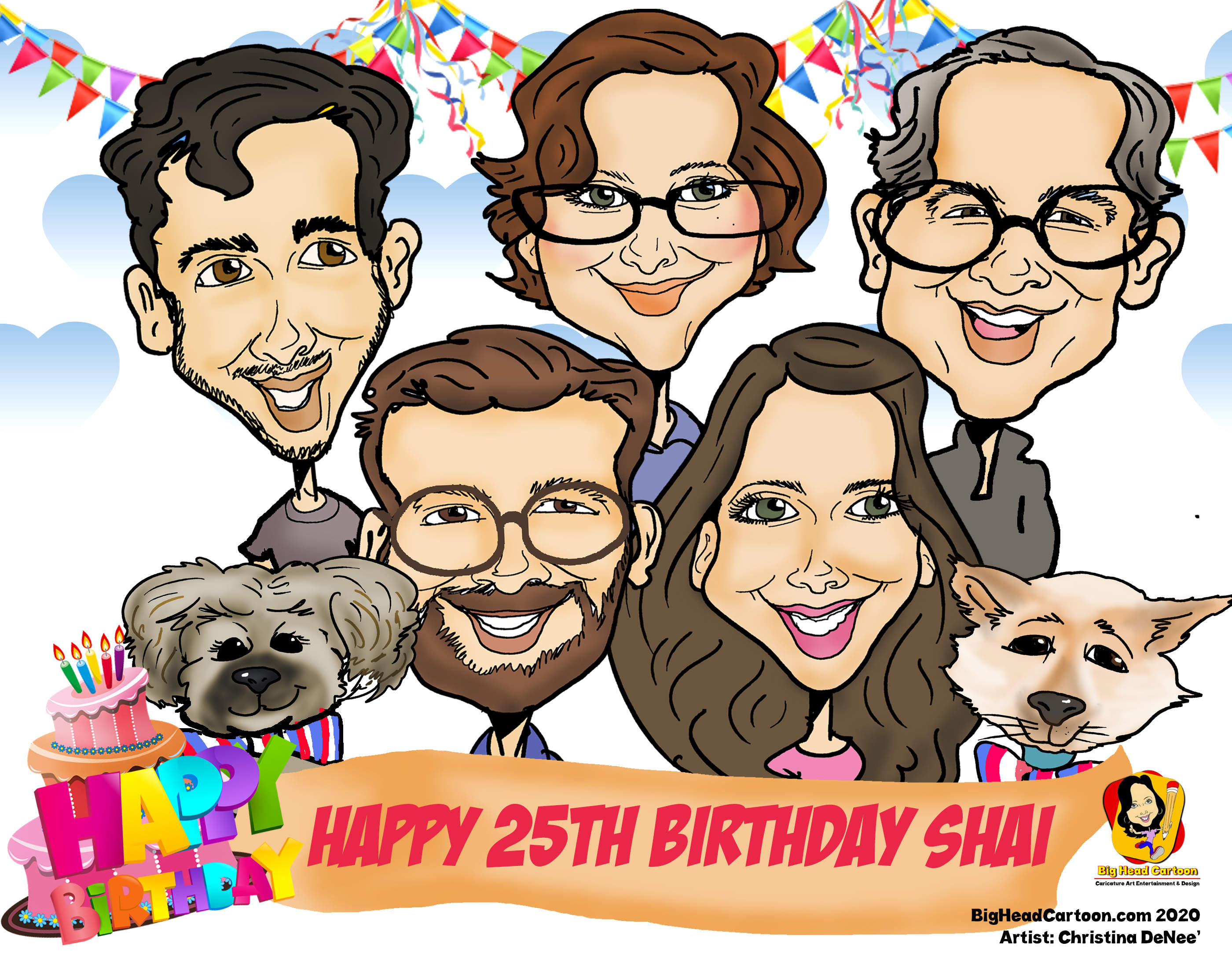 Zoom Caricatures, Virtual Caricatures, Zoom Entertainment, Zoom Caricature Artist, Virtual Meetings,