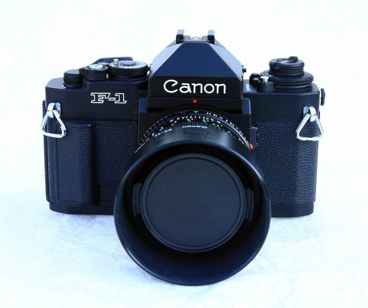 Canon F1n w/ 50mm 1.4