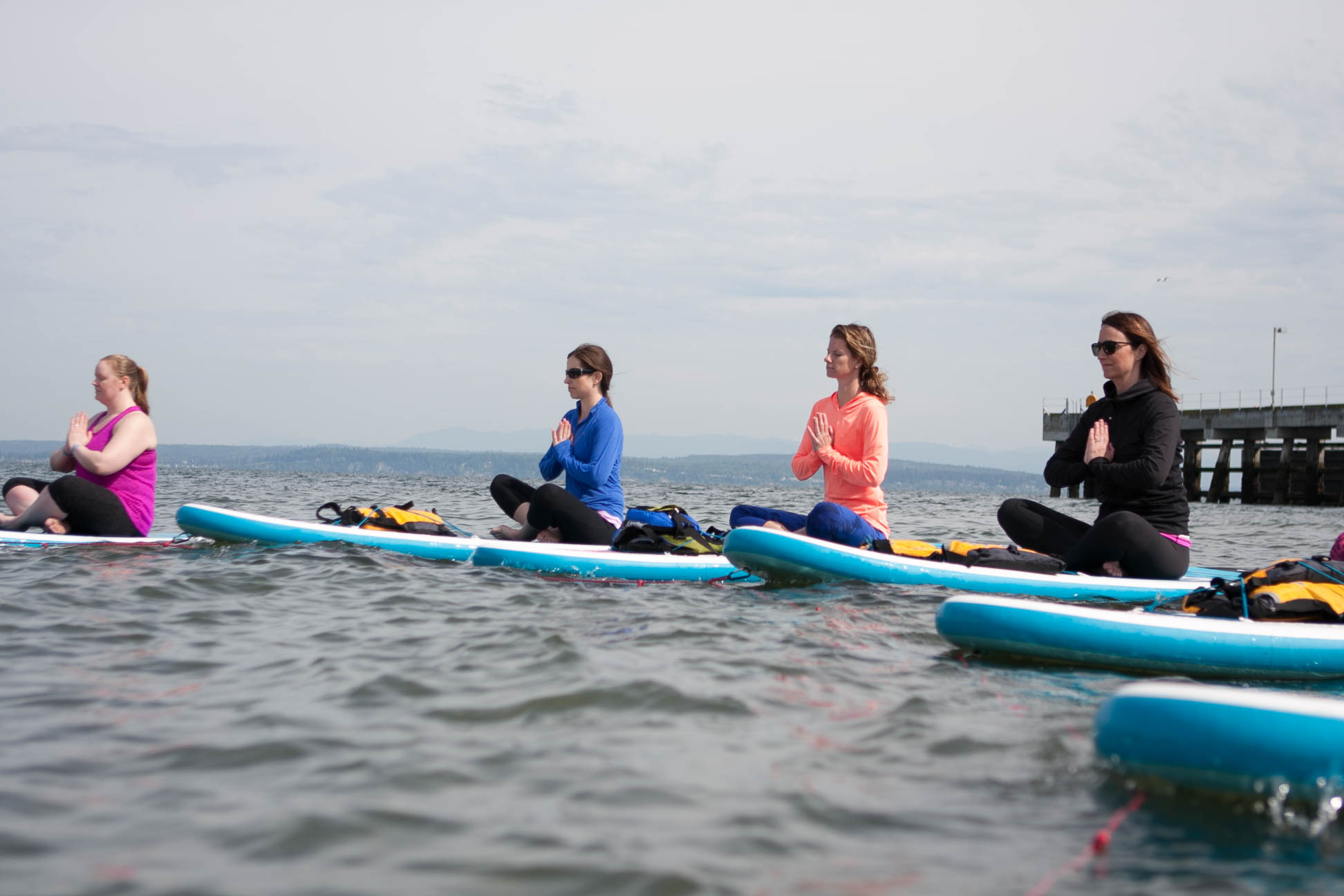 What To Expect at Your First Paddleboard Yoga Class