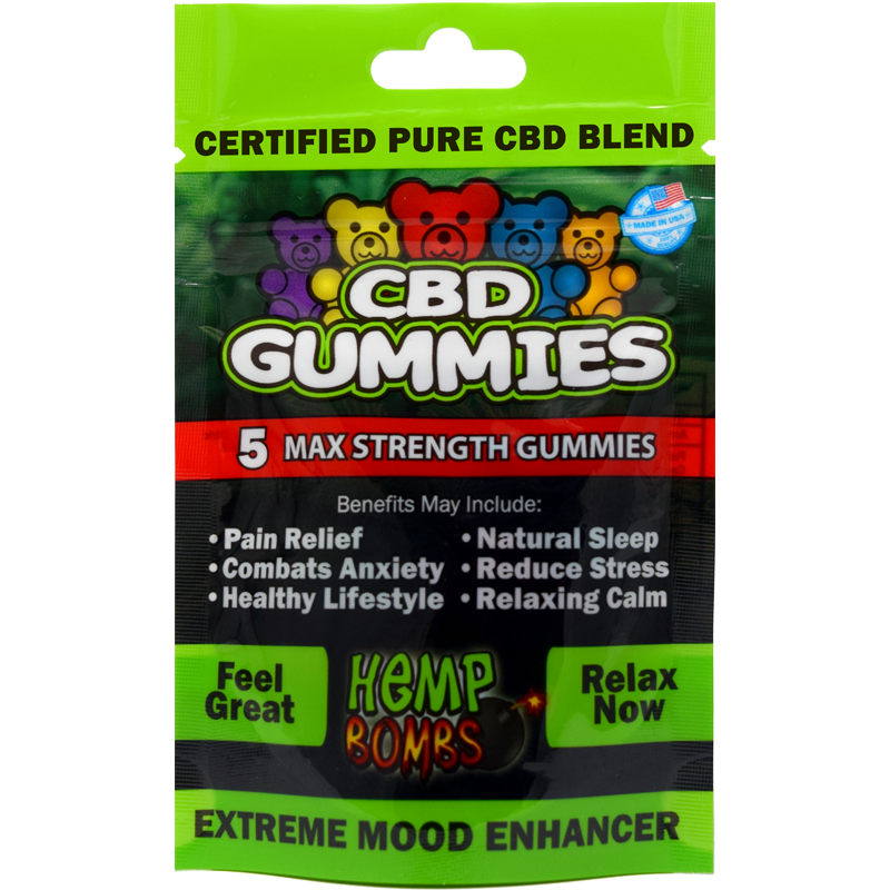 Review: HempBombs CBD Gummies