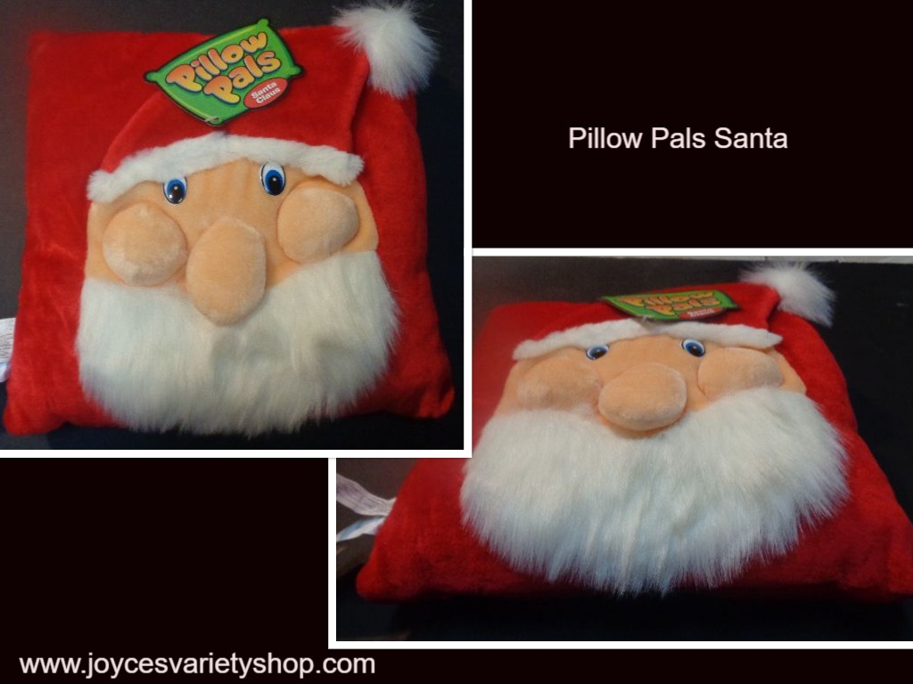 "Pillow Pals Santa Holiday 12"" x 12"""
