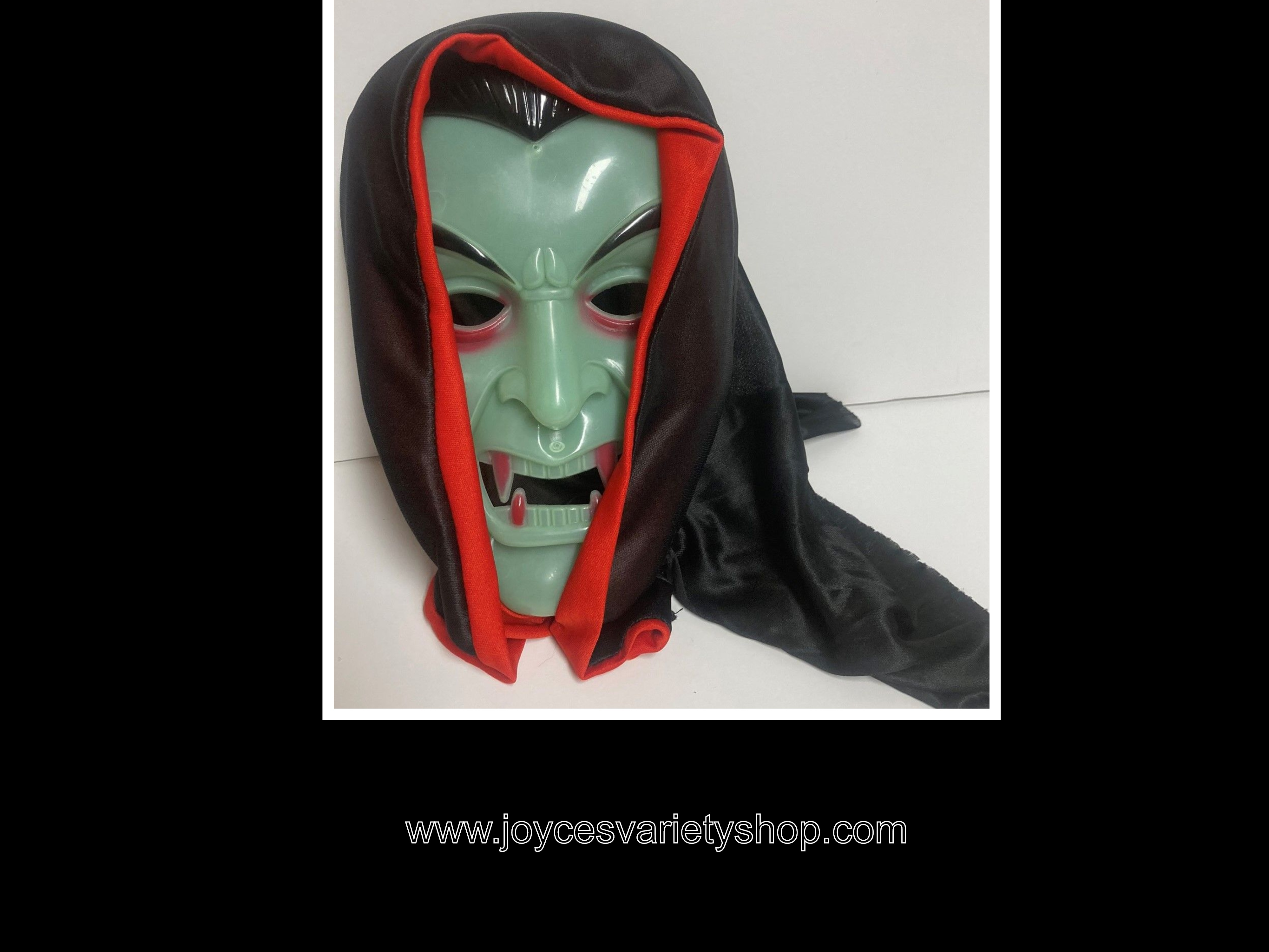 Vampire Face Mask Halloween Cosplay One Size