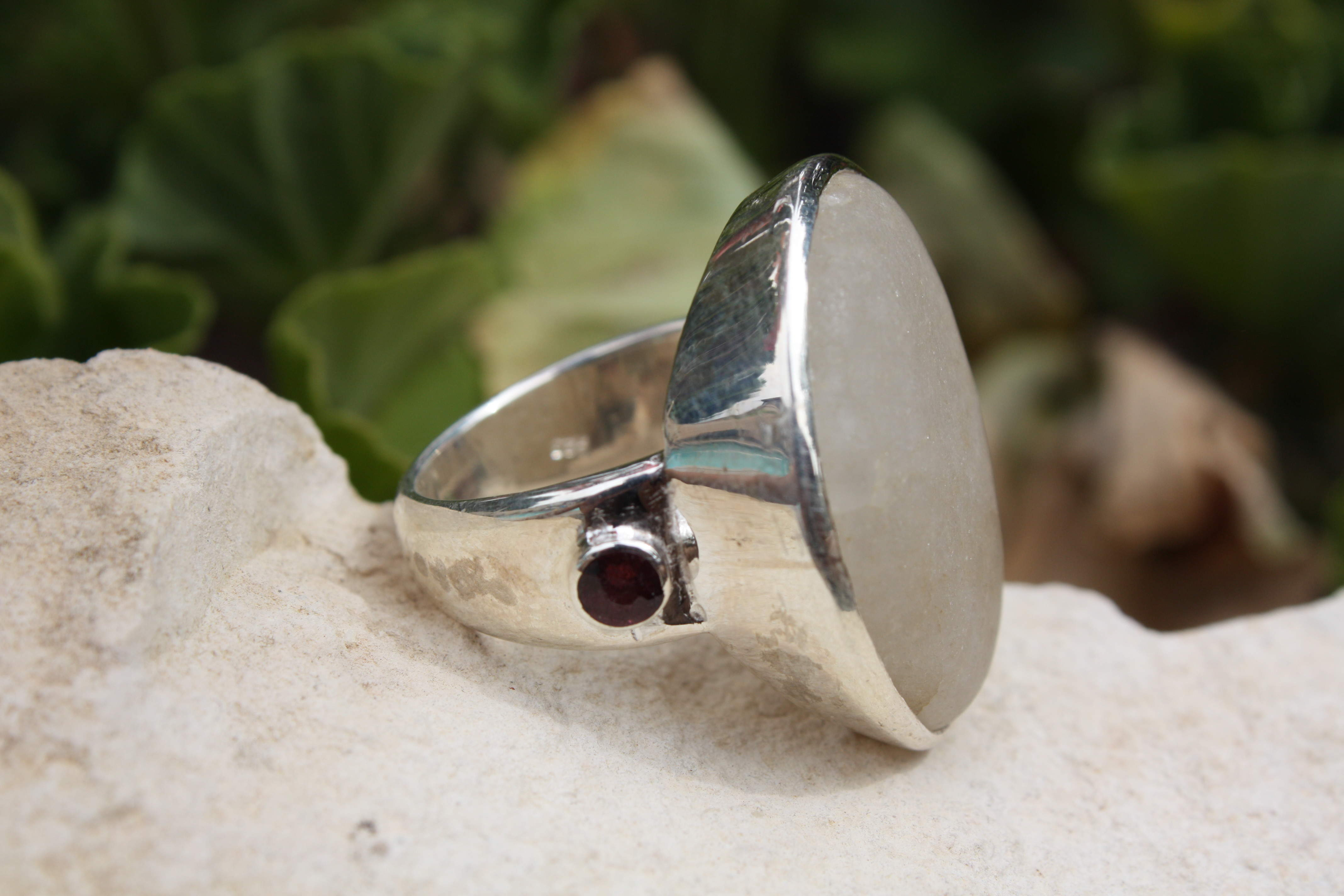 Gemstone Smoky Quartz Ring