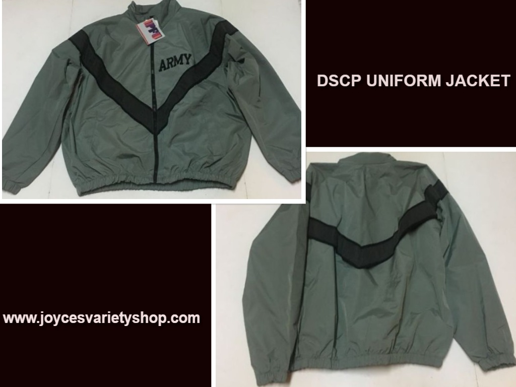 DSCP Performance Uniform Jacket ARMY Sz Large Regular