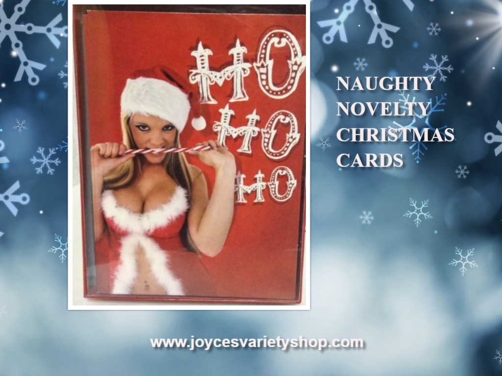 Christmas Cards & Envelopes Novelty Naughty Sexy HO HO HO