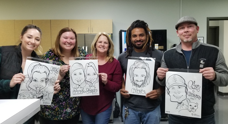 Nashville Caricature Artist Corporate Team Buildingjpg