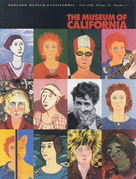 Magazine Cover-The Museum of California -The Transformation of Joan Brown