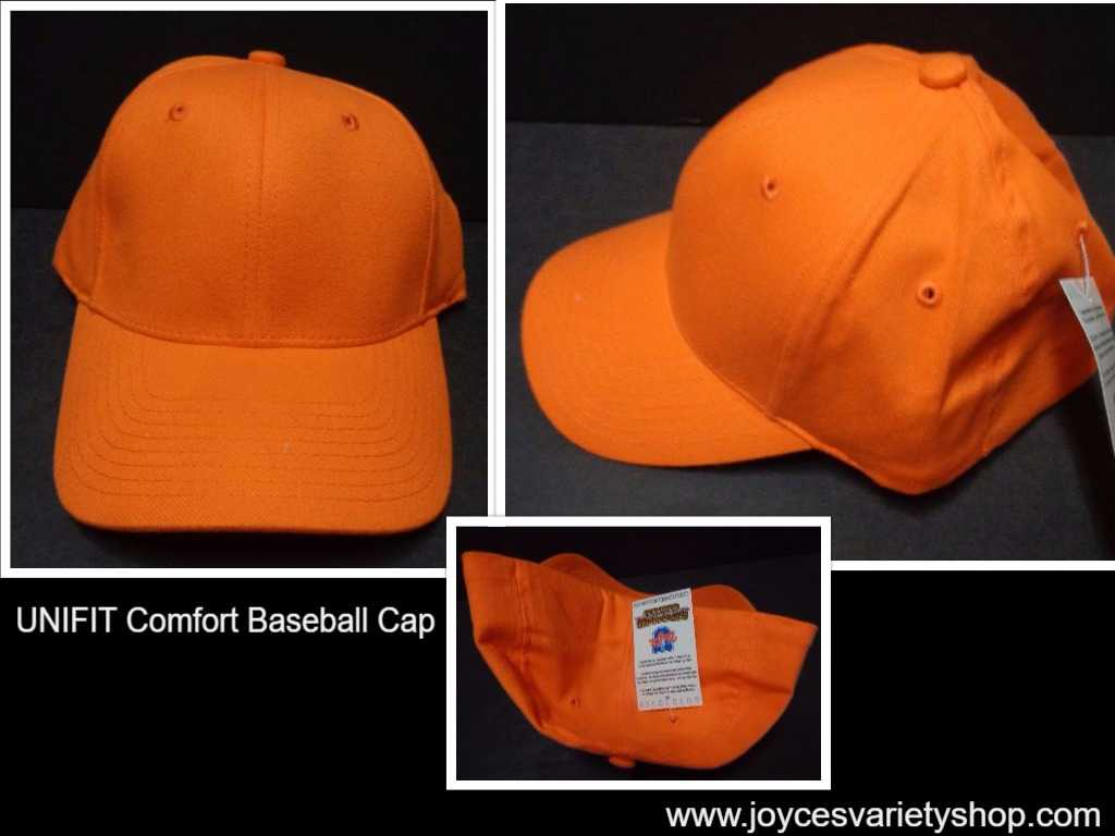 Unifit Comfort Baseball Hat Cap Astros Orange NWT SZ S/M