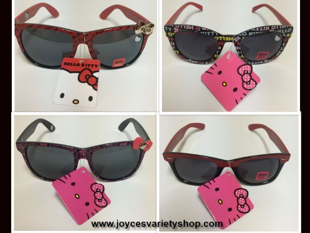 Hello Kitty Sunglasses Kids Multi-Color Variety