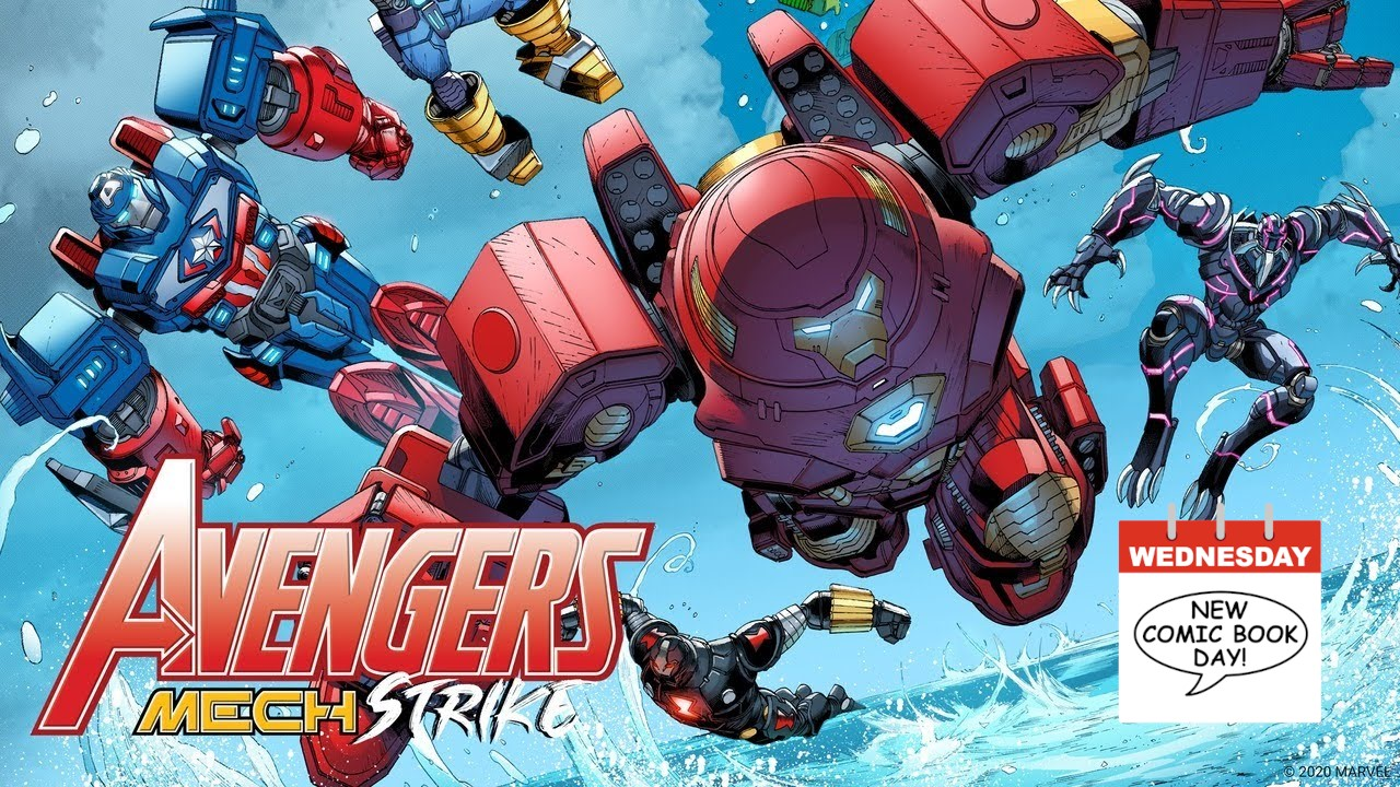 Marvel Comics Avengers Mech Strike