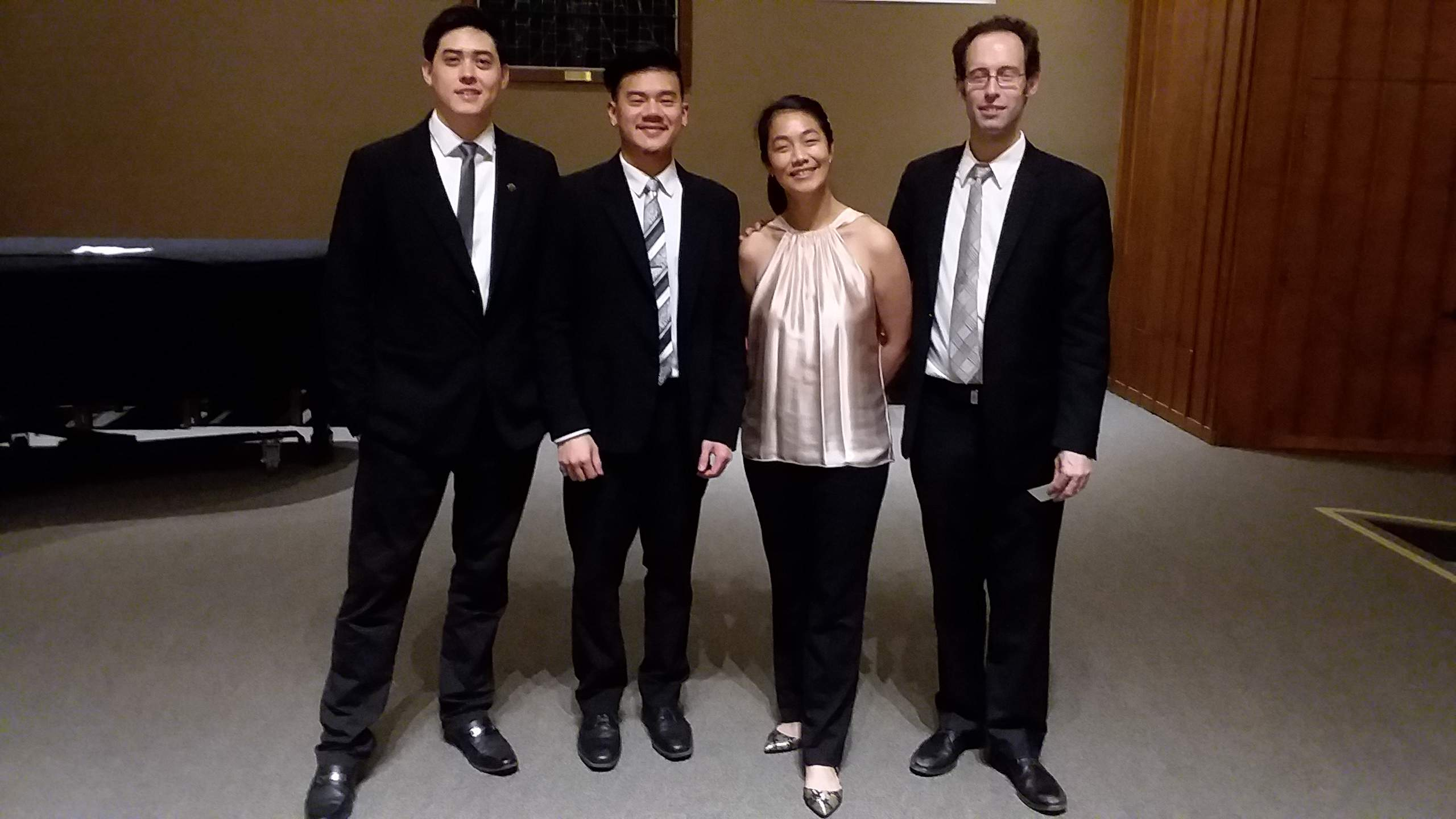 Telegraph Quartet Shines in Mill Valley