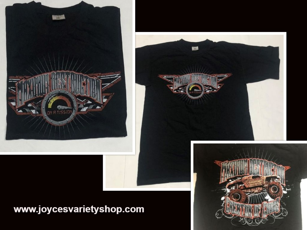 Monster Trucks MAXIMUM DESTRUCTION T-Shirt CREATOR OF CHAOS