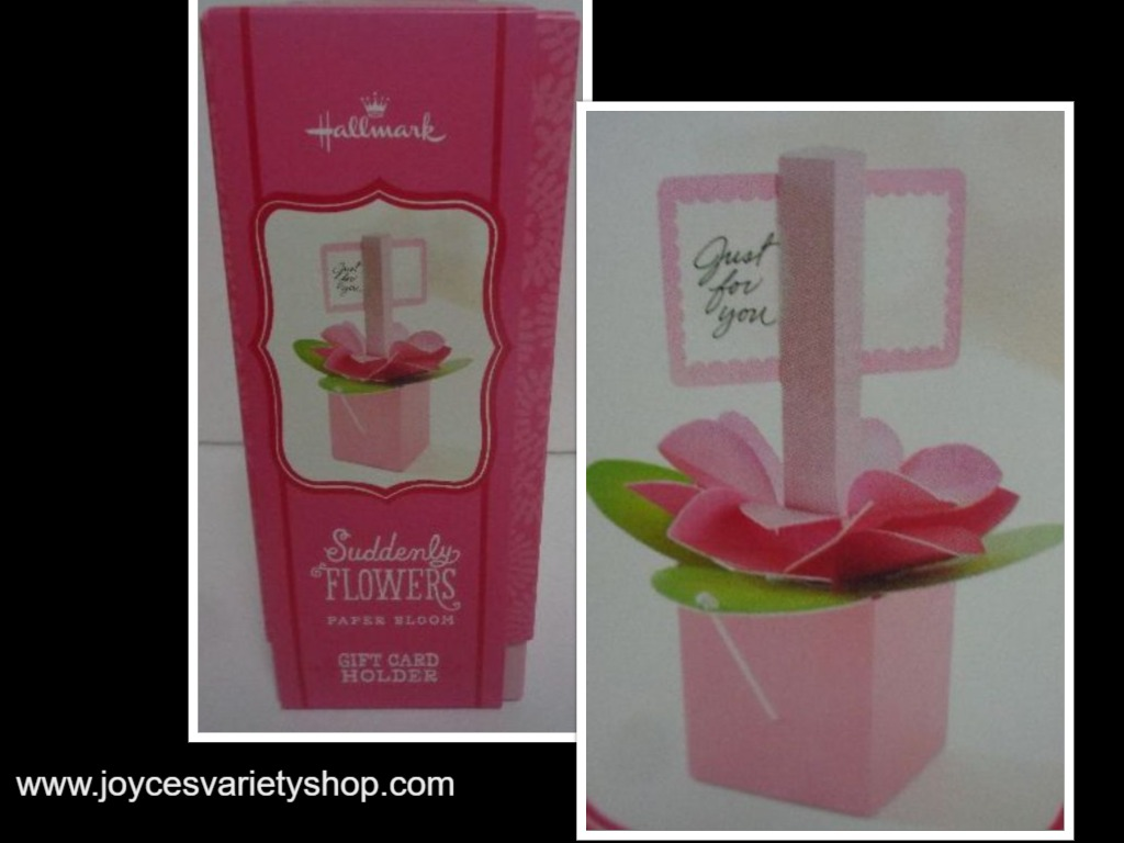 Hallmark Floral Pop Up Card Holder Special Occasion