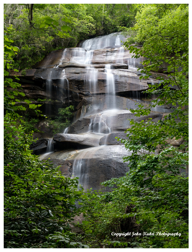 Upper Jackson Falls, Pisgah National Forest