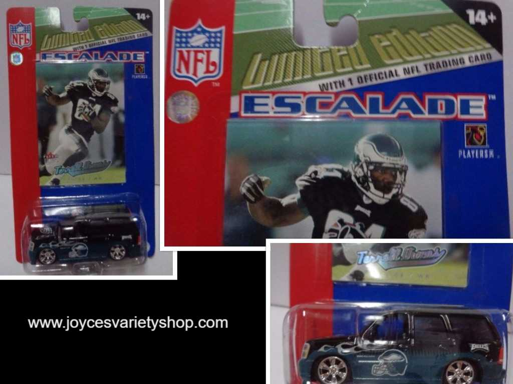 NFL Limited Edition Escalade Terrell Owens Players Card