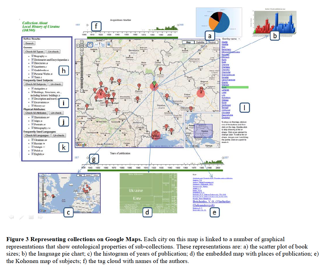 Making Sense of Document Collections with Map-Based Visualizations