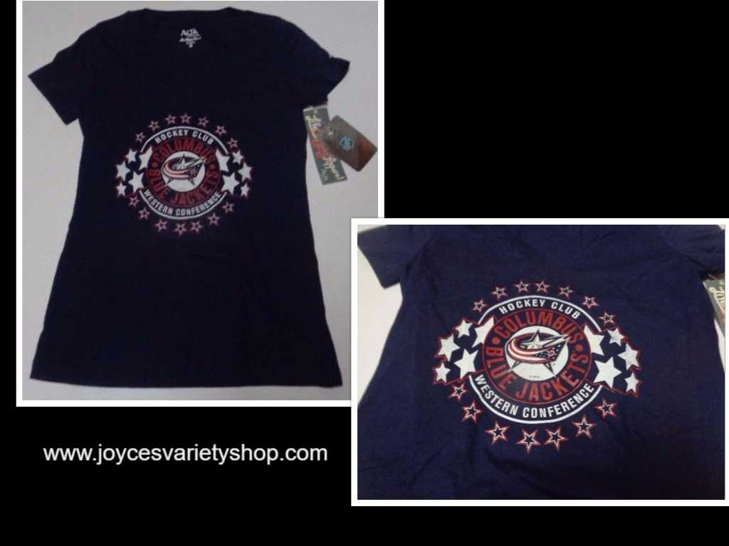 Hockey Club NHL Western Conference T-Shirt NWT Women's Adult XL