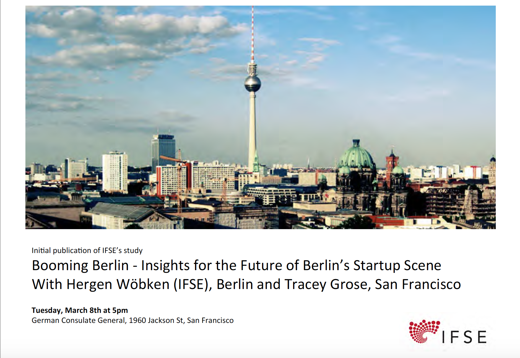Berlin's Burgeoning Startup Scene and its Connections with the Bay Area