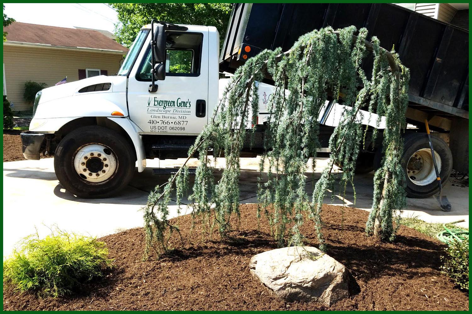 evergreen gene's landscaping, landscape contractor