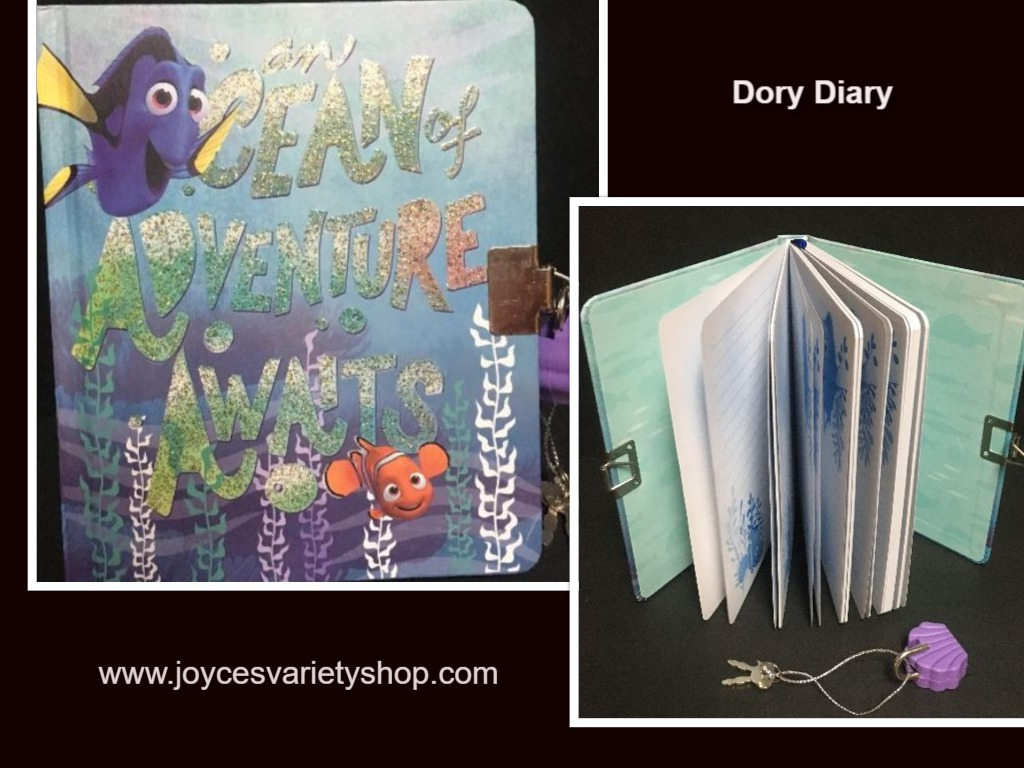 Finding Dory An Ocean of Adventure Lock & Key Diary