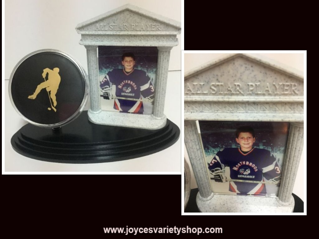 "Hockey All Star Player Photo Frame & Stand 3"" x 2.5"" Photo"