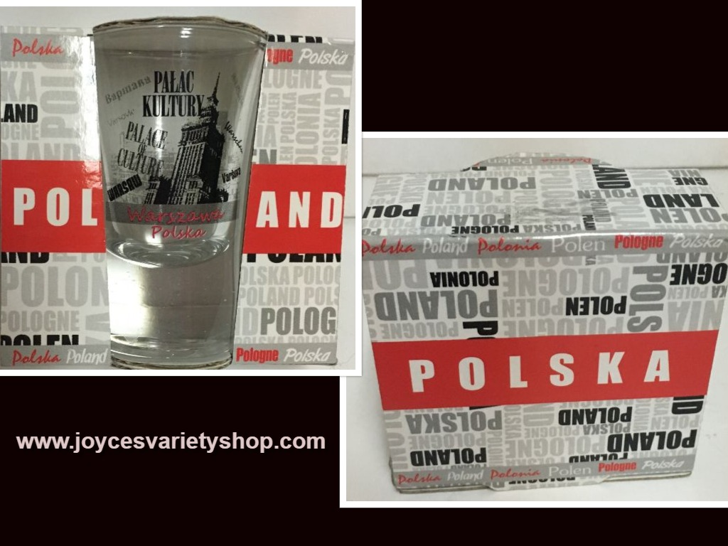 Poland Palace of Culture Shot Glass