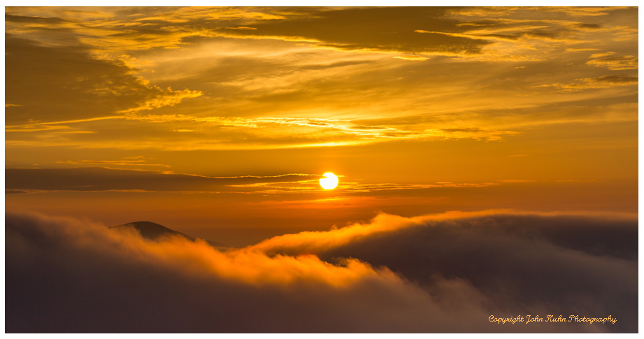 Sunrise and Low Clouds