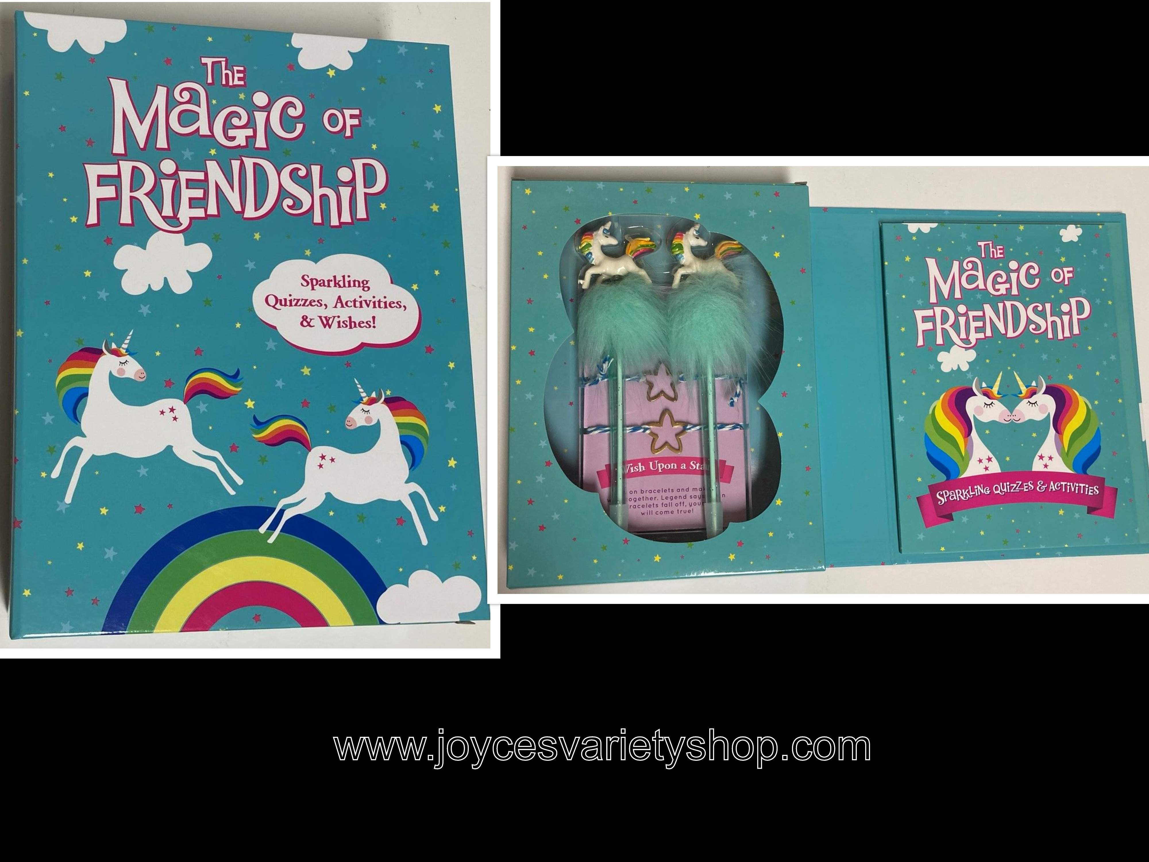 The Magic Of Friendship Book of Quizzes, Activities & Wishes Age 6+
