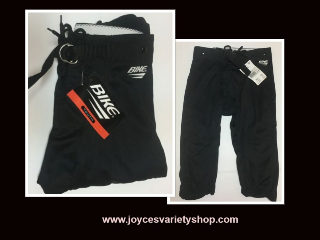 BIKE Boy's Pants NWT Youth Sz M (12-14) Black