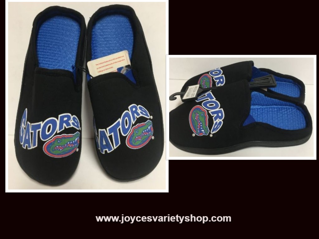 Florida University Gators Men's Cushion Memory Soles Slippers Shoe Various Sizes
