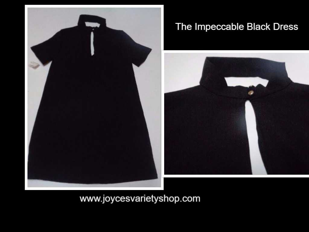 Black Choker Dress NWT SZ XS The Impeccable Pig