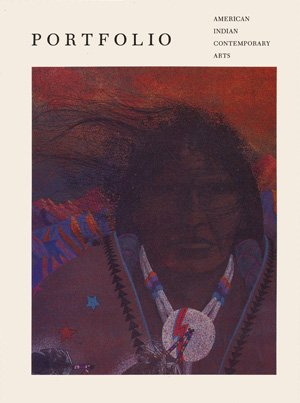 Book Cover: Portfolio, American Indian Contemporary Arts