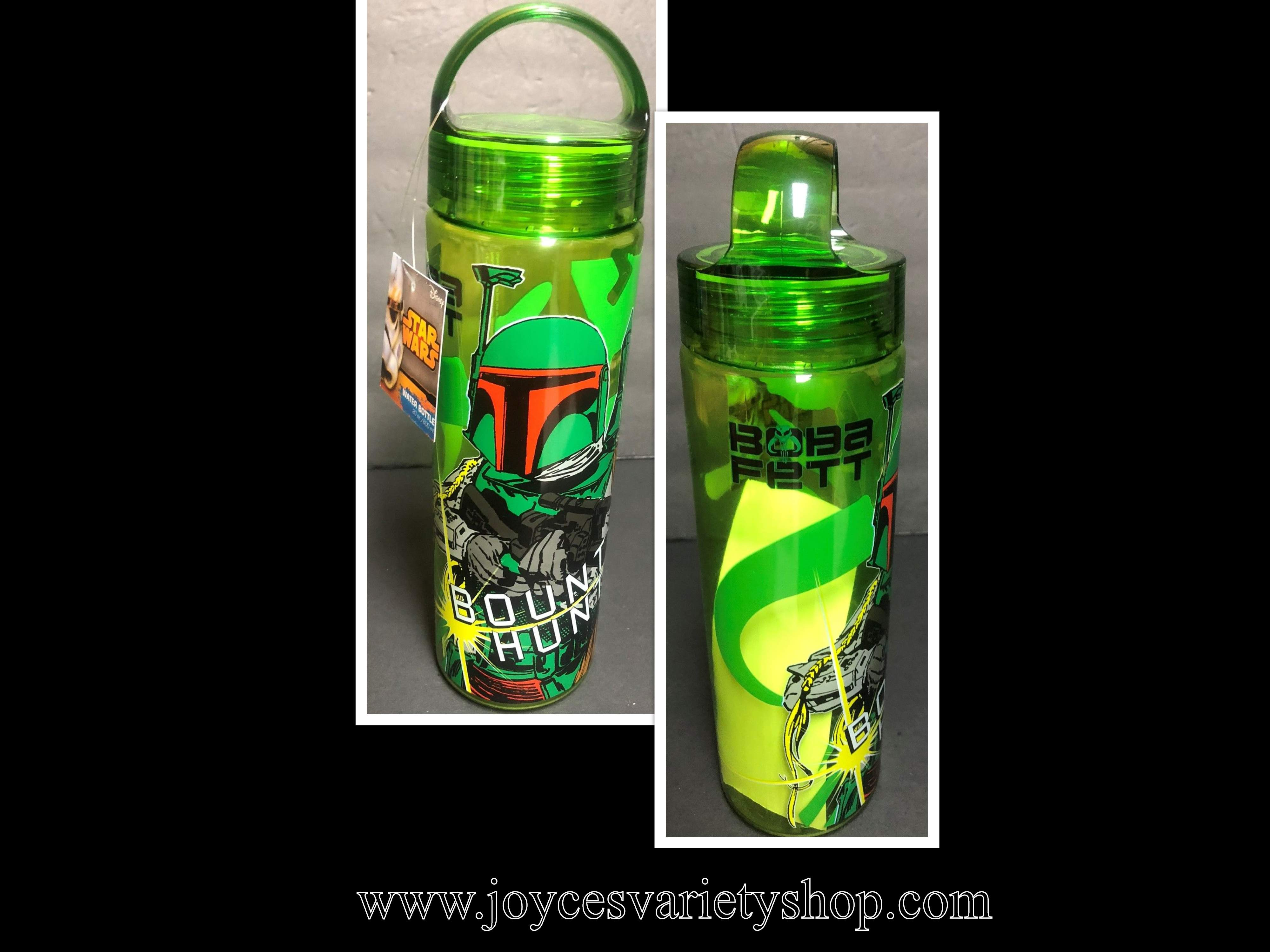 Star Wars Bounty Hunter Water Bottle Boba Fett 20 OZ Disney BPA Free