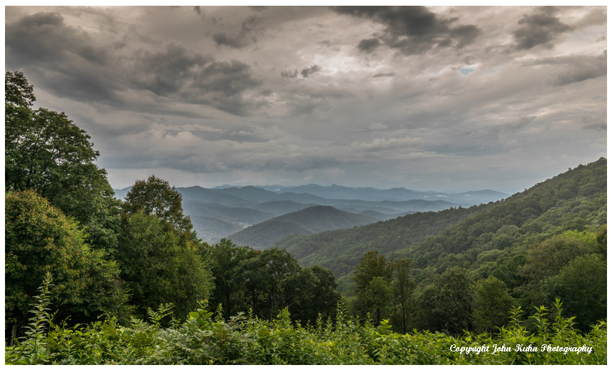 The Blue Ridge and Clouds