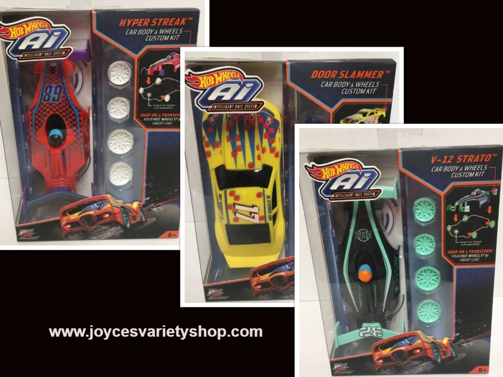 Hot Wheels Ai Car Body & Wheels Custom Kit Accessories Various Designs