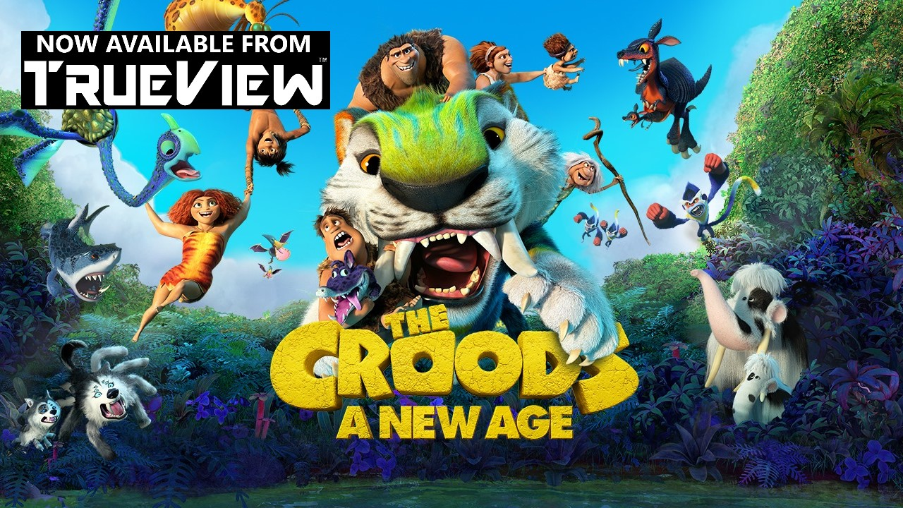 The Croods 2 A New Age Blu-ray DVD bluray Rent