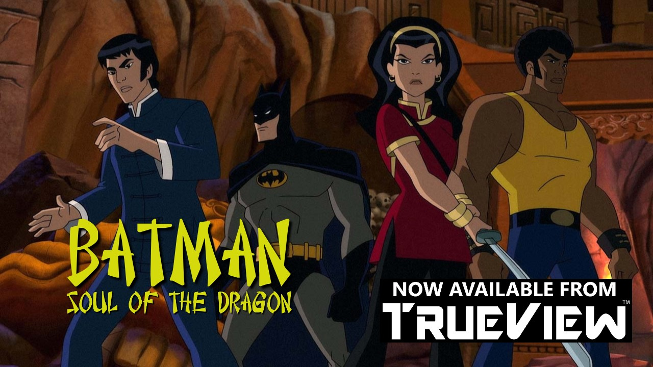 Batman Soul of the Dragon Blu-ray DVD bluray Rent