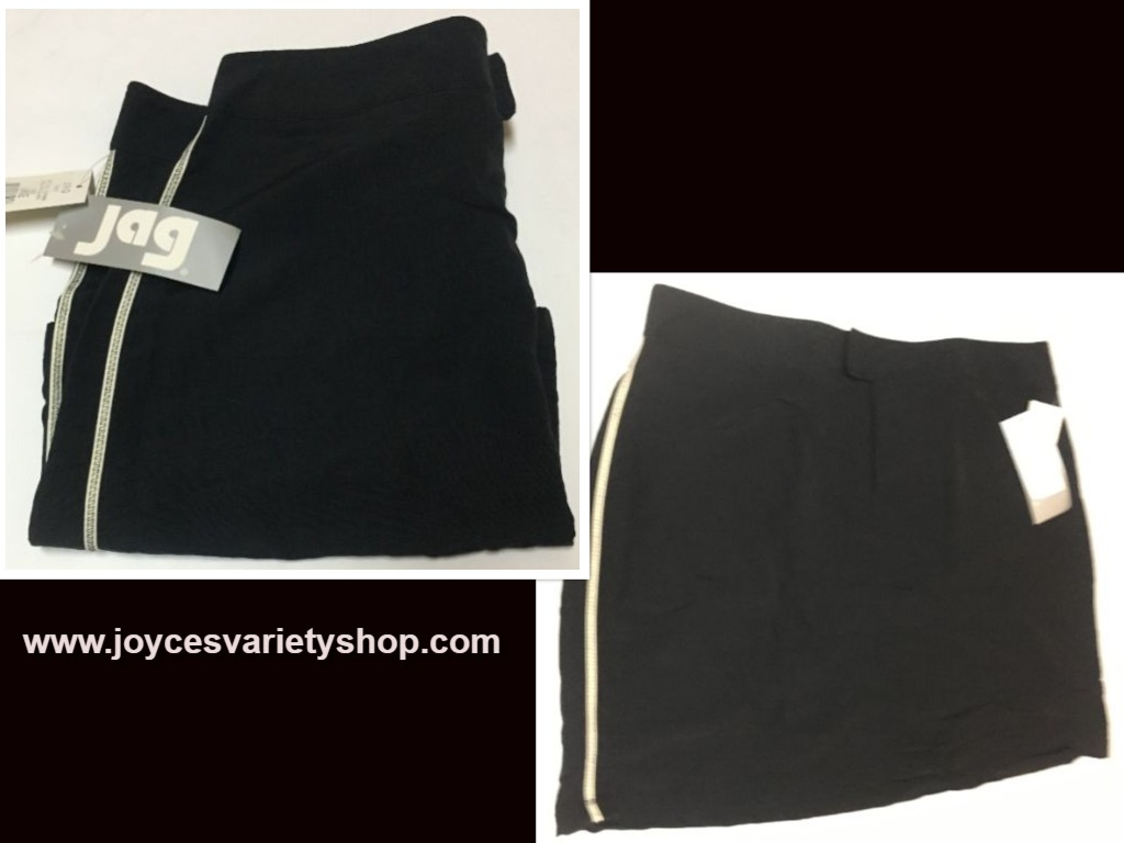 JAG Black Active Performance Skirt SZ L