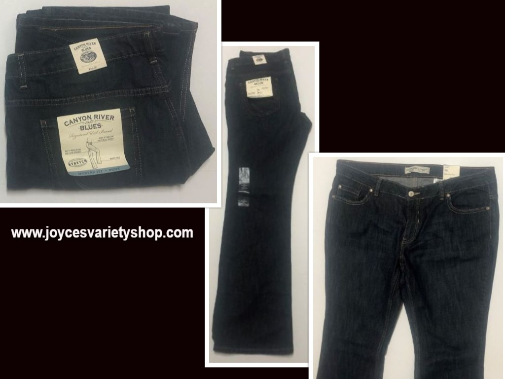Canyon River Blues Jeans Boot Cut Low Waist Sz 14 Average Stretch