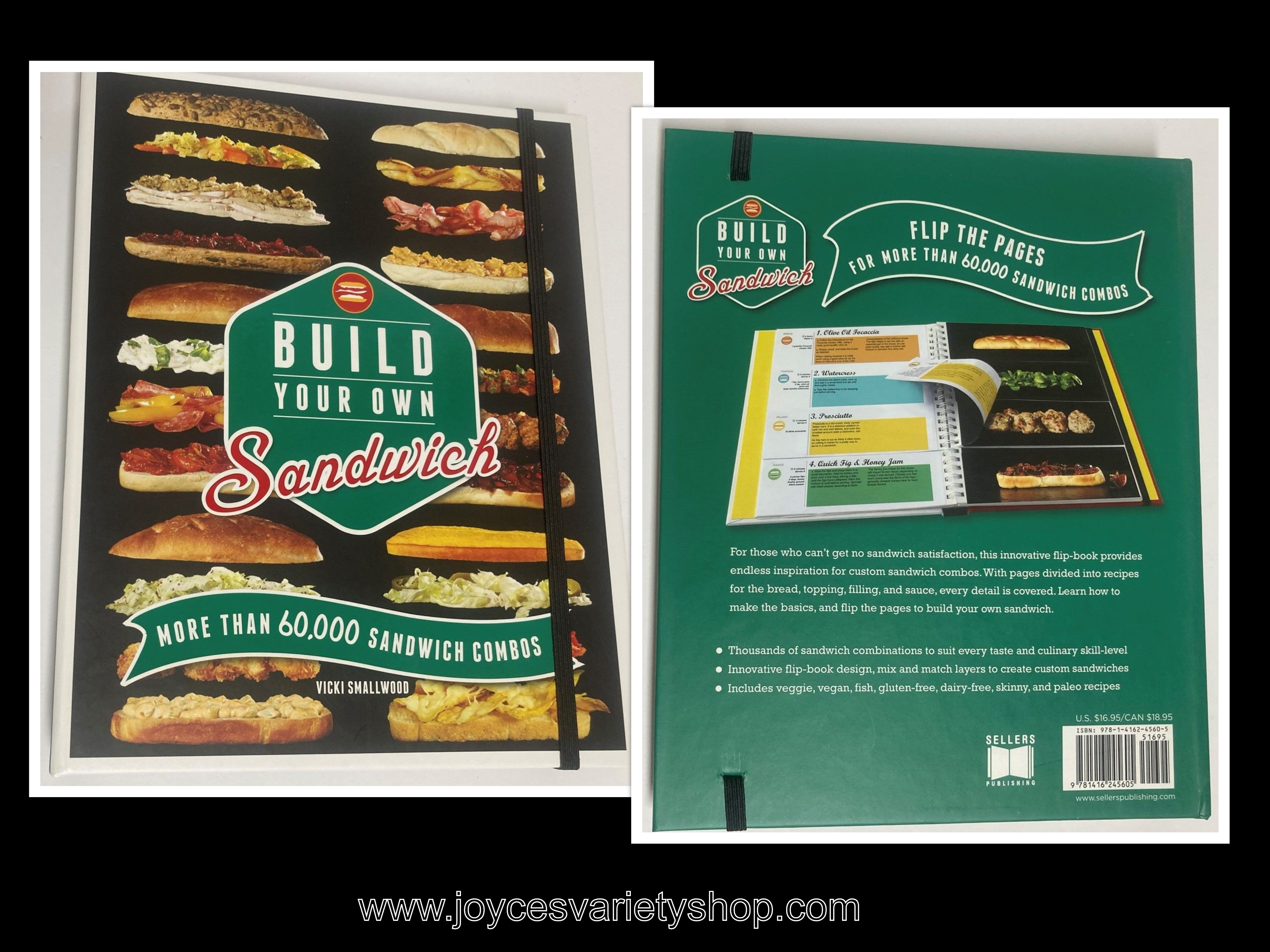 Build Your Own Sandwich 60,000 Combos Book Vicki Smallwood