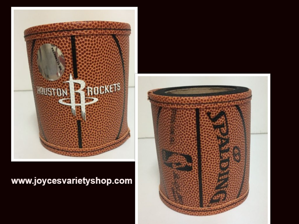 Houston Rockets Basketball Koozie Can Holder Logo NBA