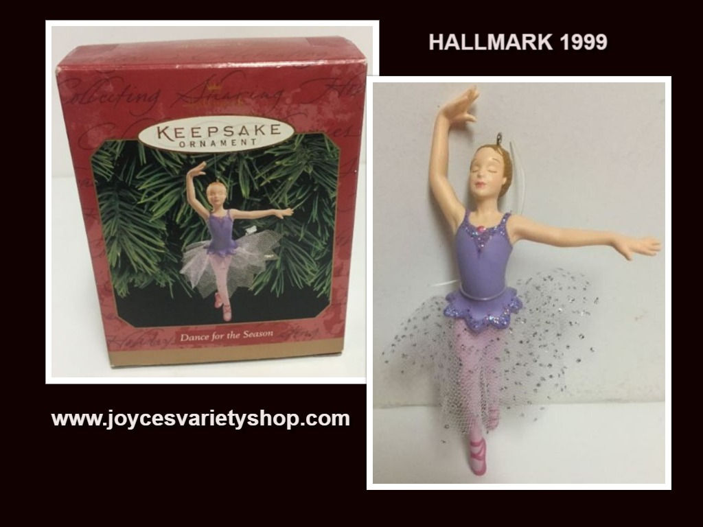 Hallmark 1999 Dance For The Season Ornament