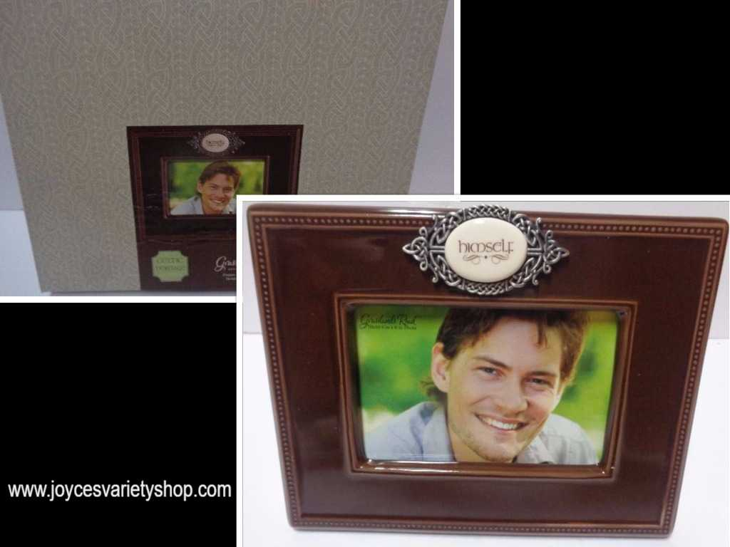 "Grasslands Road Heritage ""Himself"" Photo Frame NIB 4x6"