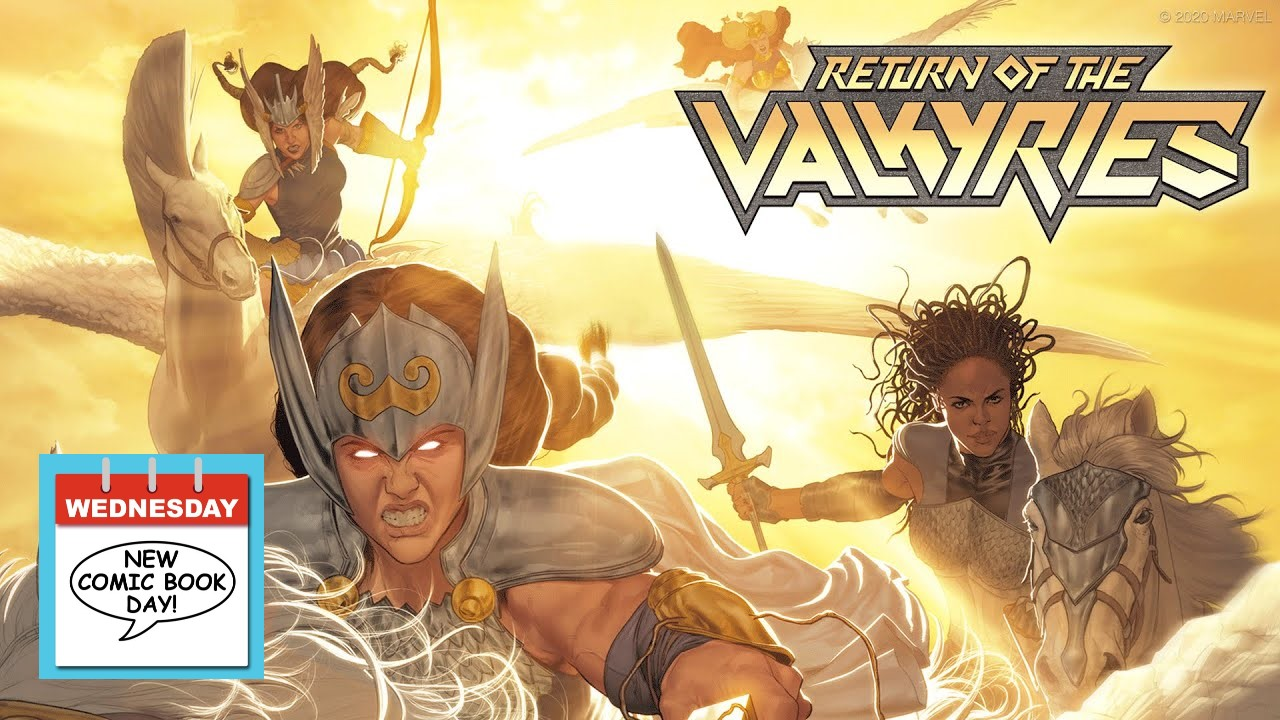 Marvel Comics Thor King in Black Return of the Valkyries Comic Book